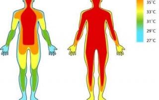 onderkoeling lichaam temperatuur scan
