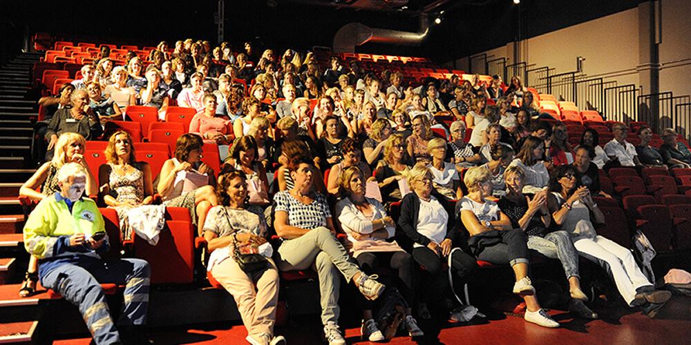 verantwoordelijk EHBO en brandveiligheid filmfestival Maassluis 2016 in de zaal